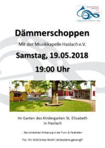 Dämmerschoppen @ Kindergarten Haslach
